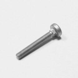 Bolzen mit Rändel Kaltfließpressteil - Otto Eichhoff GmbH & Co. KG Lüdenscheid